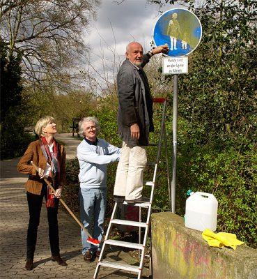 Drei SPD-Kandidaten starten die Parkinitiative